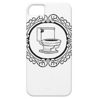 round potty label iPhone SE/5/5s case
