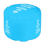 [Crown] be reem and read on!!!!!!  Round Pouf