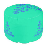 [Crown] keep calm and love the janoskians  Round Pouf