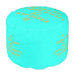 [Cupcake] keepcalm and eat little baby's ice cream  Round Pouf