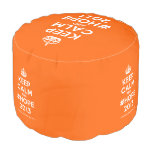 [Crown] keep calm and #hope 2013  Round Pouf