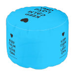 [Love heart] keep calm and love cma  Round Pouf