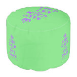 [Crown] keep calm and eat cake  Round Pouf