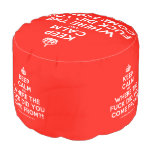 [Crown] keep calm and where the fuck did you come from?!  Round Pouf