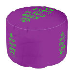 [Dancing crown] keep calm and love nyc  Round Pouf