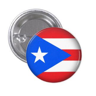 Round Puerto Rico 1 Inch Round Button