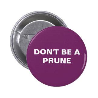 round purple button