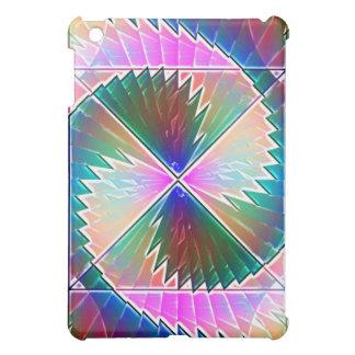Round Rainbow Speck Case iPad Mini Cover