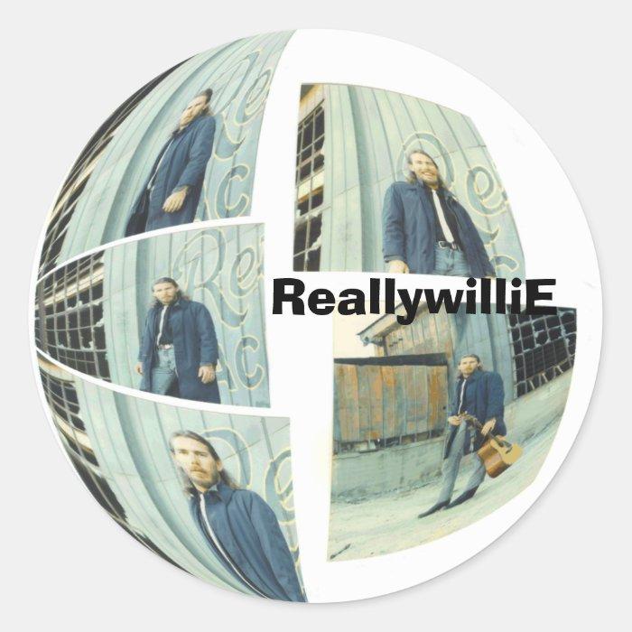 Round, ReallywilliE Classic Round Sticker
