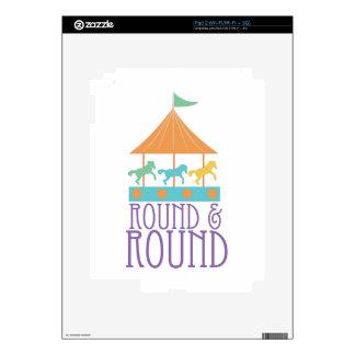 Round & Round Skins For The iPad 2