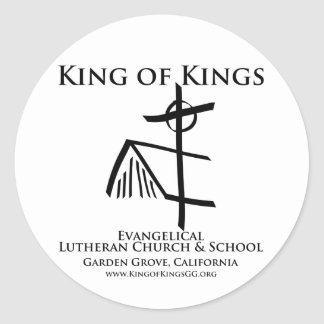 Round Sanctuary Sticker