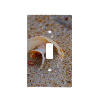 Round Seashell Light Cover Light Switch Plate