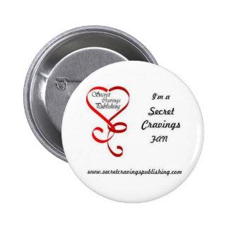 Round Secret Cravings Fan Button
