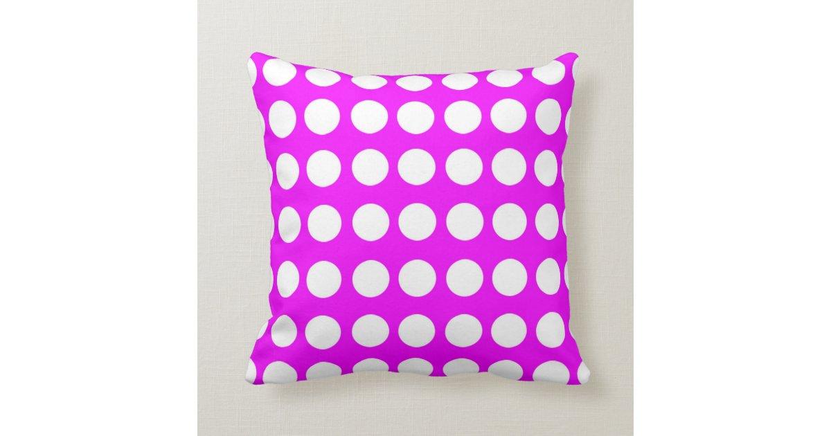 Round Shape Pattern Throw Pillow Zazzle