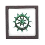 round ships wheel graphic blue green.png premium trinket box