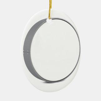 Round signboard ceramic ornament