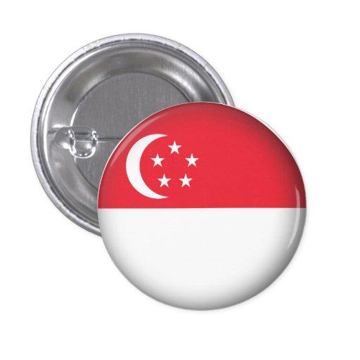 Round Singapore Button