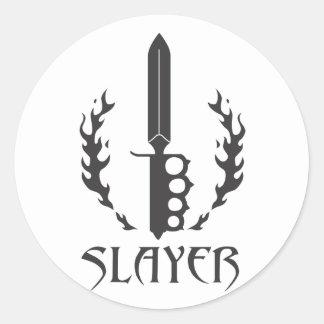 Round Slayer Sticker