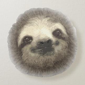 Round Sloth Pillow