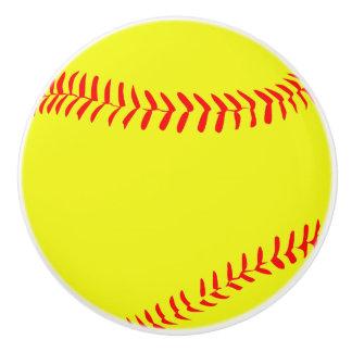 Round Softball Knob Pulls
