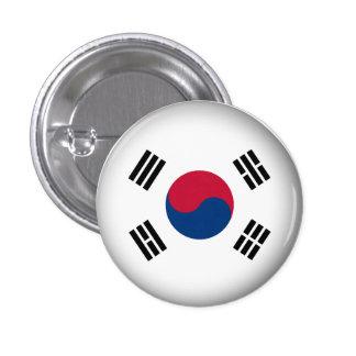 Round South Korea Button