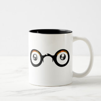 Round Specs (with Reflection) Mug