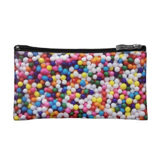 Round Sprinkles Cosmetic Bag