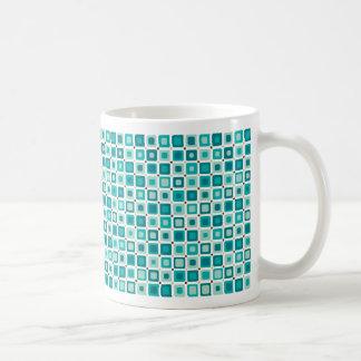 Round Square Pattern Mug