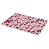 Round Squares Pattern Pink