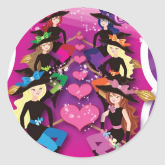 round sticker