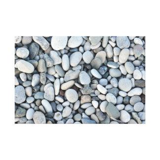 round stone texture rock minerals nature gravel canvas print