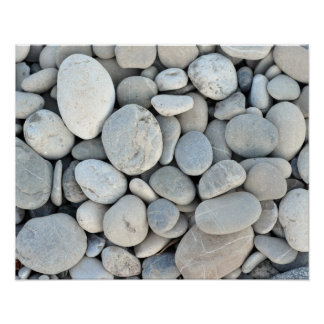 round stone texture rock minerals nature gravel poster