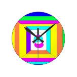 Round Super Duper Clock