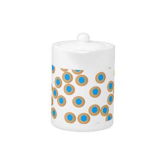 Round Sweet Image Teapot