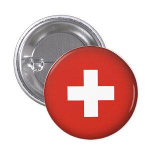 Round Switzerland 1 Inch Round Button