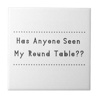 Round Table Ceramic Tile