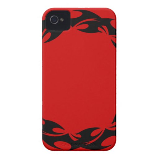 ROUND TATTOO FLAMES 011 GRAPHIC DESIGNS LOGO ICON iPhone 4 COVER
