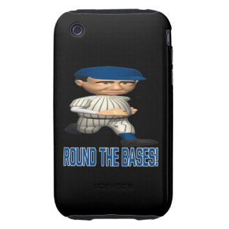 Round The Bases iPhone 3 Tough Cover