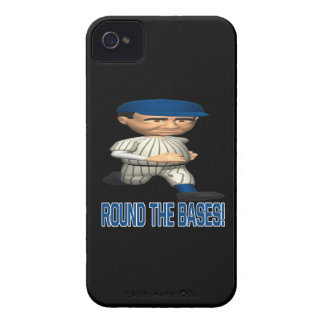 Round The Bases iPhone 4 Case-Mate Case