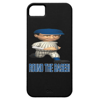 Round The Bases iPhone SE/5/5s Case