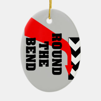 Round The Bend Christmas Ornament