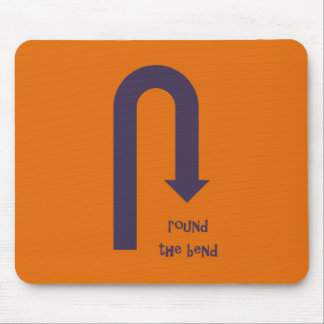 Round the Bend Mousepads