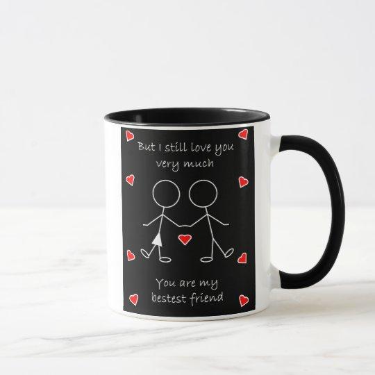 Round the Bend Valentine Mug