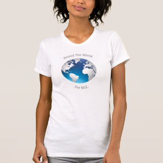 Round The World for M.E. - T-shirt