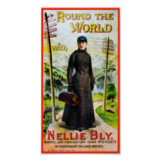 Round The World With Nellie Bly - Poster