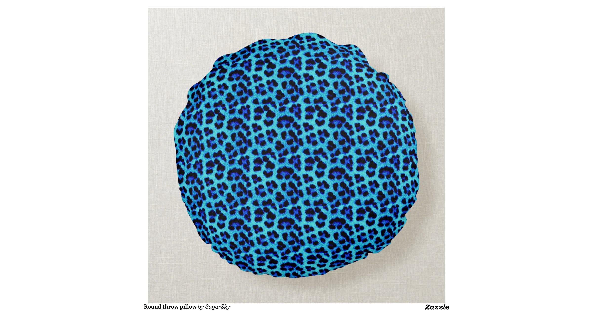 Round Throw Pillow Round Pillow Zazzle