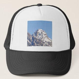 round top peak trucker hat