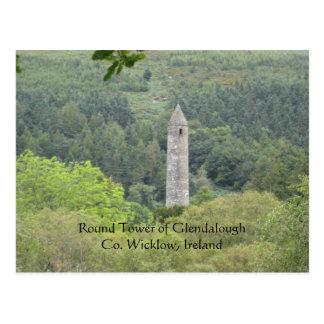 Round Tower (Ireland)Postcard