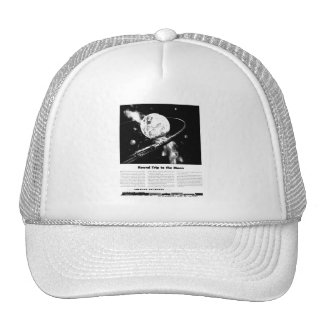 Round Trip To The Moon Trucker Hats