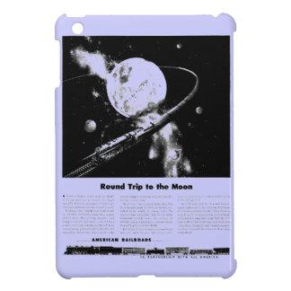 Round Trip To The Moon iPad Mini Cases